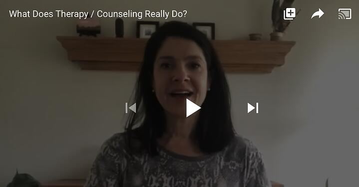 "What does ""Therapy/Counseling"" Really do?"